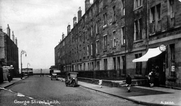 Postcard Of George Street, Leith c.1940