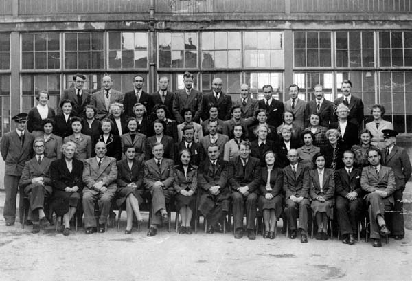 Group Portrait Portobello High School Primary And Secondary Teachers 1951/52