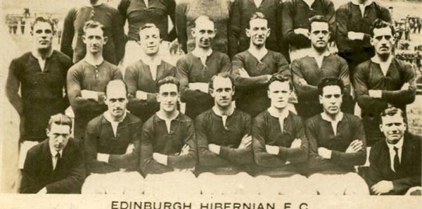Hibernian Football Club Team 1920s