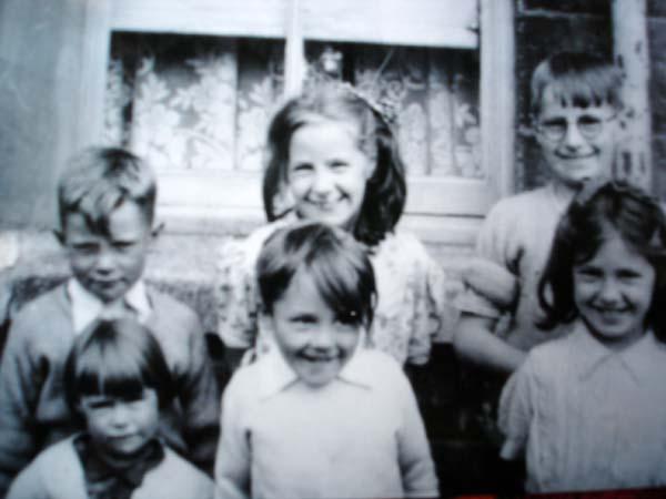 Group Of Children Posing For Camera 1950s