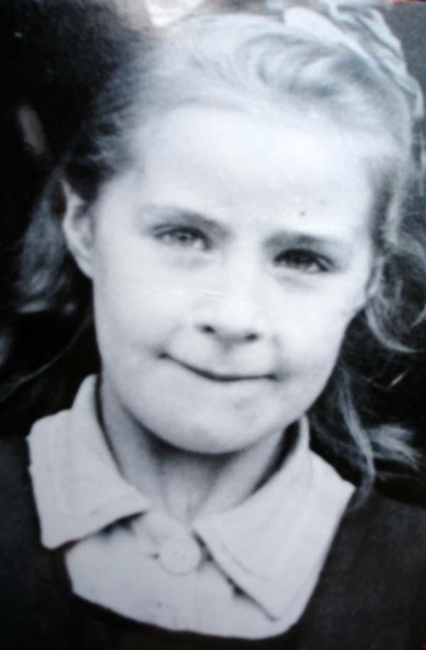 Portrait Girl School Photograph c.1952