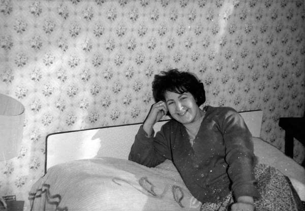 Trying Out The New Bed 1965