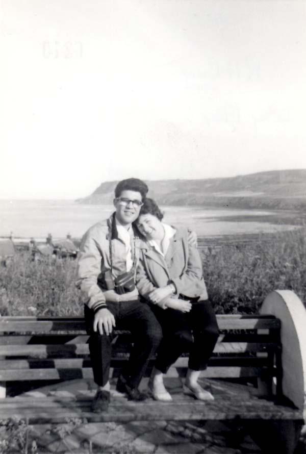 Couple On Holiday At Robin Hood Bay 1964