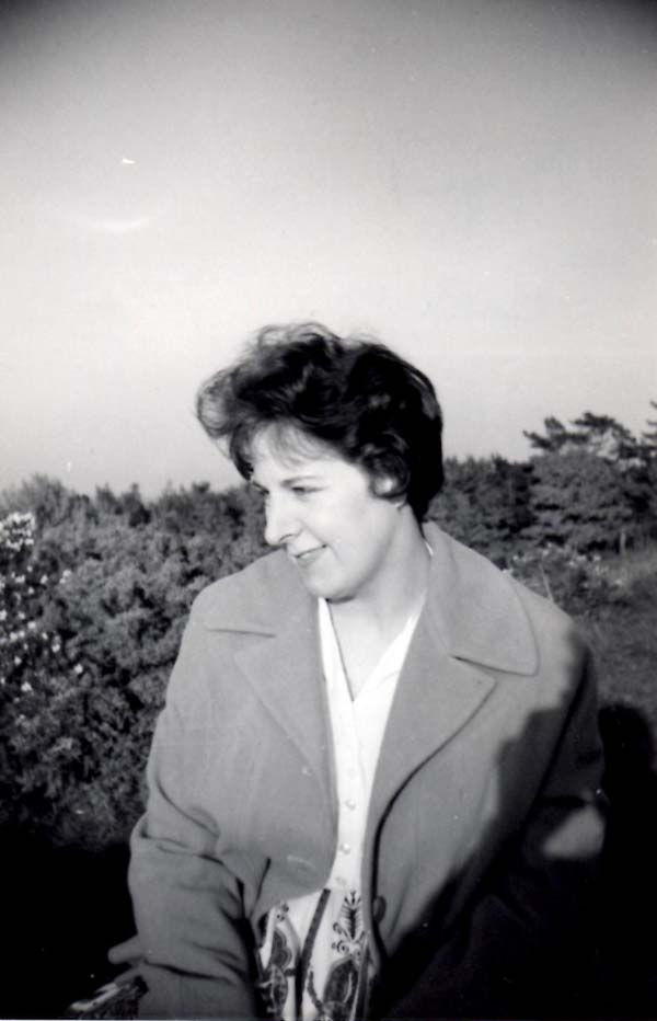 Outdoor Portrait Young Woman c.1964