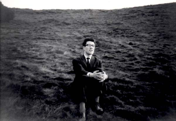 Young Man Taking A Pew On Hillside c.1964