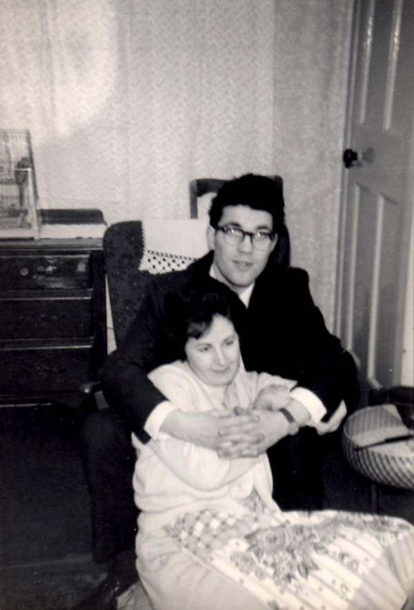 Young Couple At Home 1965
