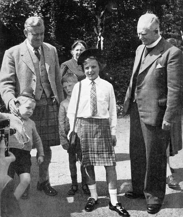 Marion Fleming Leaving Dunforth Children's Home 1954