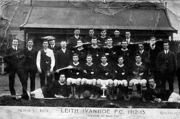 Leith Ivanhoe Football Club Team 1912-13