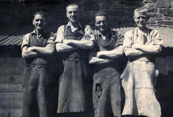Coopers At DJ McCallum Bond And Cooperage c.1930