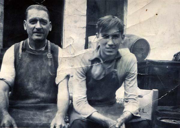 Coopers At DJ McCallum Bond And Cooperage 1930s