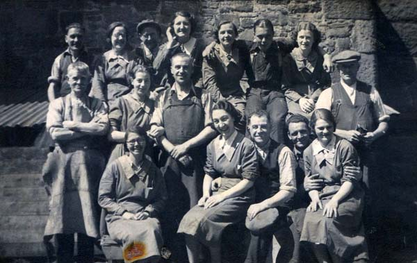 Workmates At DJ McCallum Bond And Cooperage On Links Place c.1930