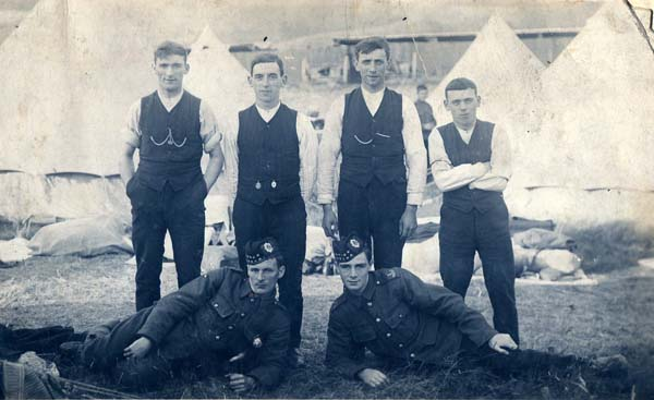 Soldiers/Civilians On Camp 1920s