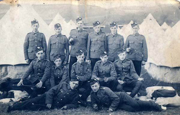 Young Soldiers On Camp 1920s