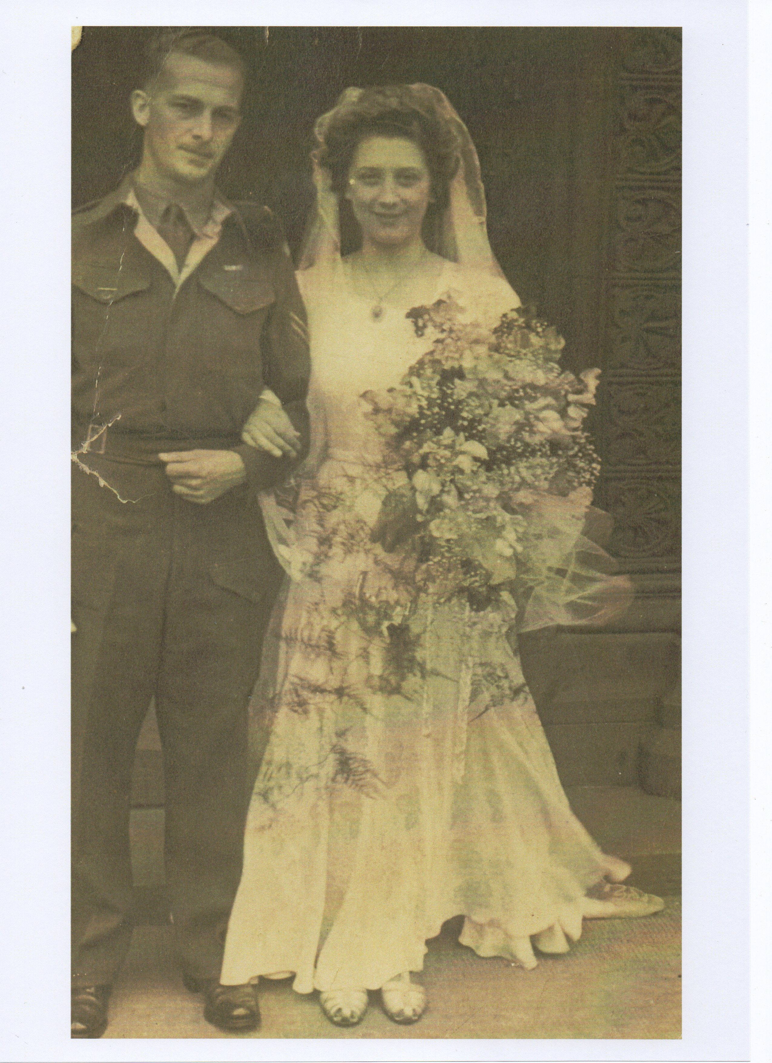 Alastair W. Forbes - Mum and Dad's Wedding Day.