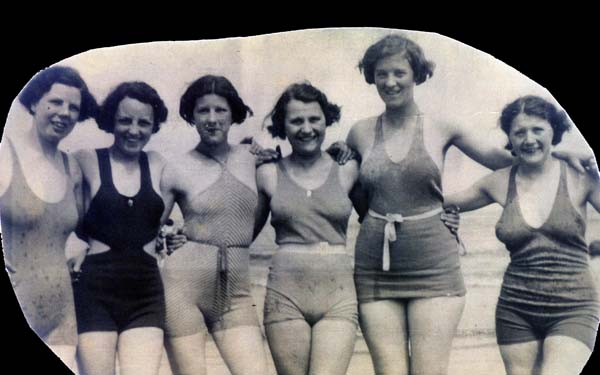 Portobello Beach Bathing Belles 1934