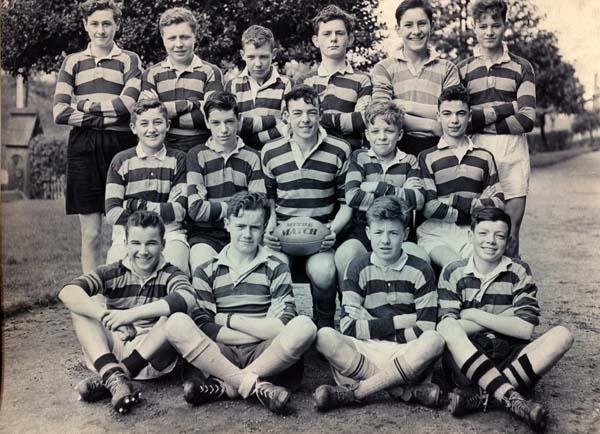Portobello High School Rugby Team 1956/57