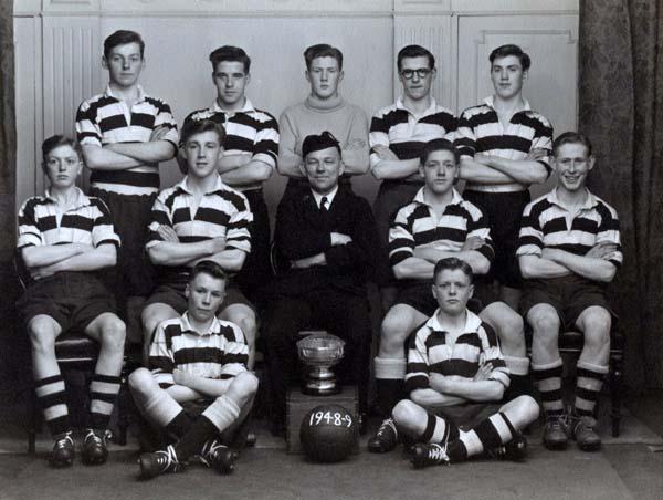 14th Leith Boys Brigade Football Team 1948/49