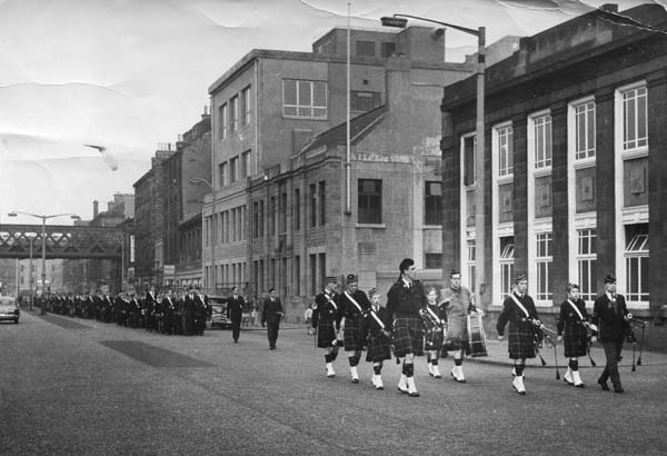 Boys Brigade Parade On Leith Walk c.1949