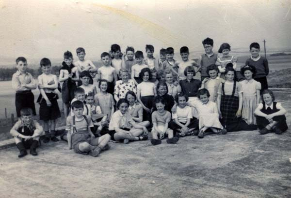 Group Of Children From Fort School On An Outing While Spending Two Weeks At Middleton School Camp Near Gorebridge c.1953