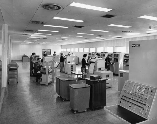 Official Opening Of The National Coal Board Scotland Computer Centre At Sighthill 1963