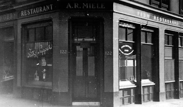 Miele's Fish and Chip Shop 1940s