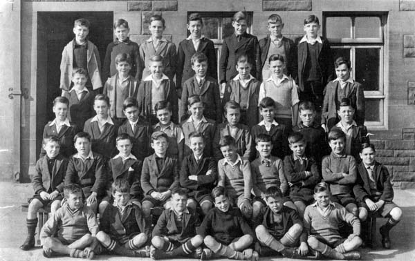 David Kilpatrick School Class Portrait 1936