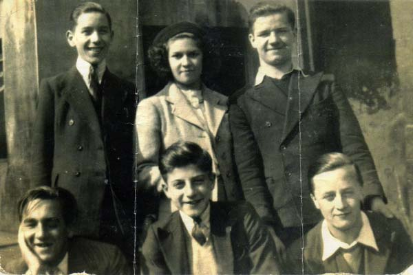 Group Of Teenagers c.1939