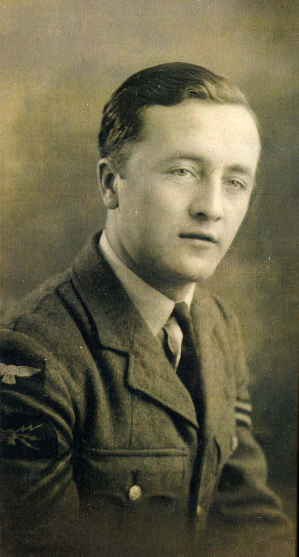 Studio Portrait Corporal Of The Royal Air Force c.1942