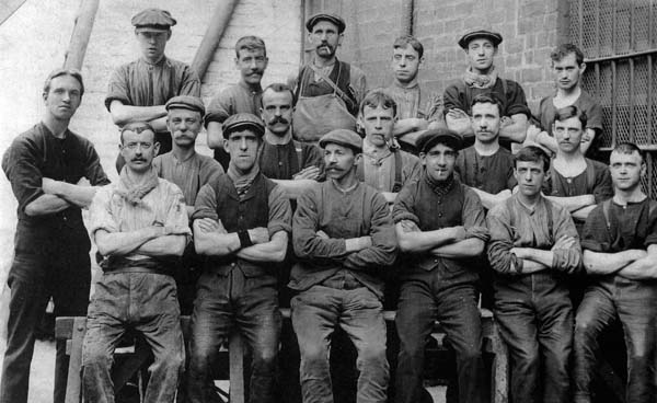 Workers At BOCM (British Oil and Cake Mills) c.1920
