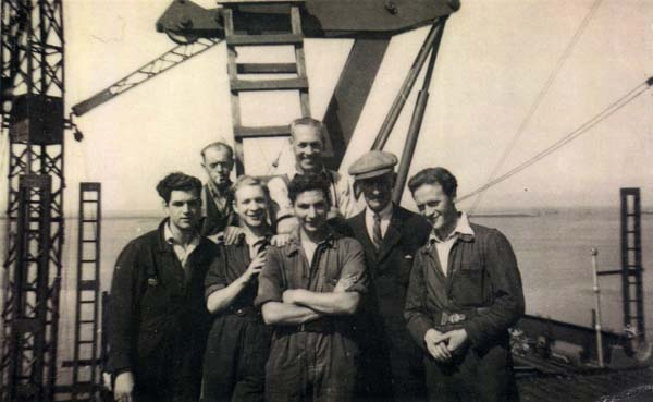 Apprentices At Henry Robb's Shipyard 1940s