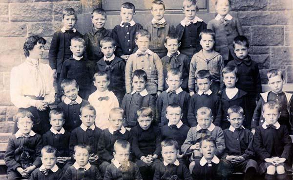 Class Portrait Donaldson's School For The Deaf c.1905