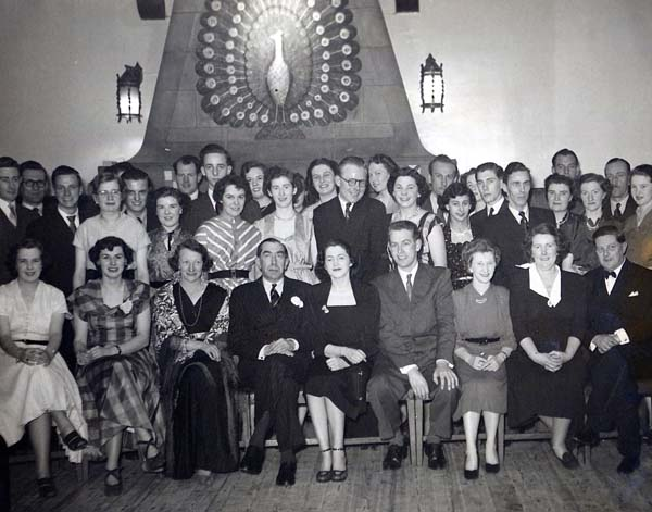 Leith Unionists At The Peacock Inn On Coronation Day, 2nd June 1953