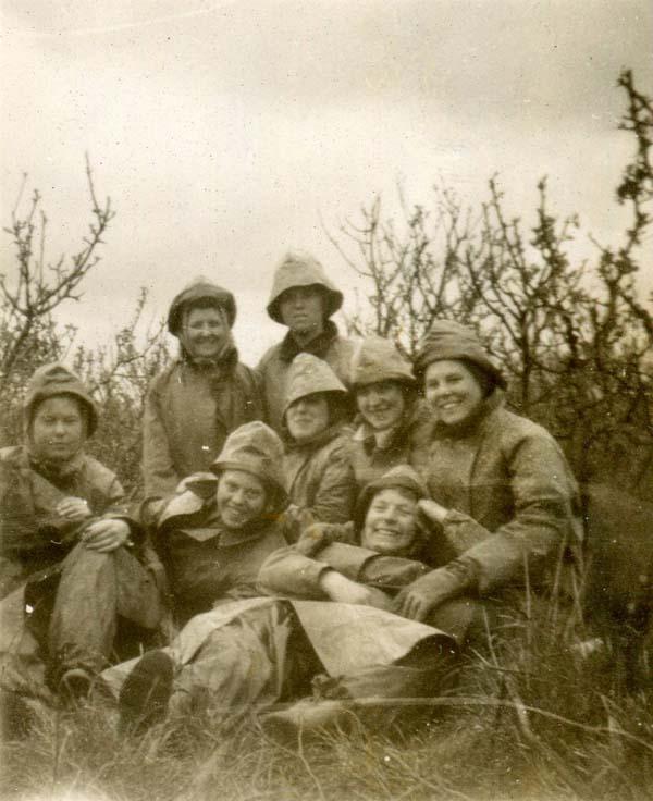 Spraying Apples Trees 1947