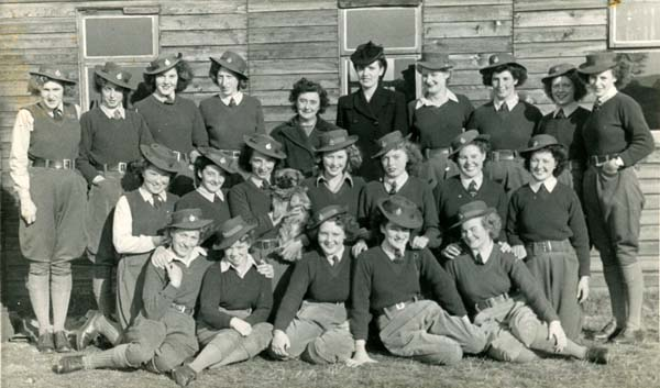 Women's Land Army Girls c.1947