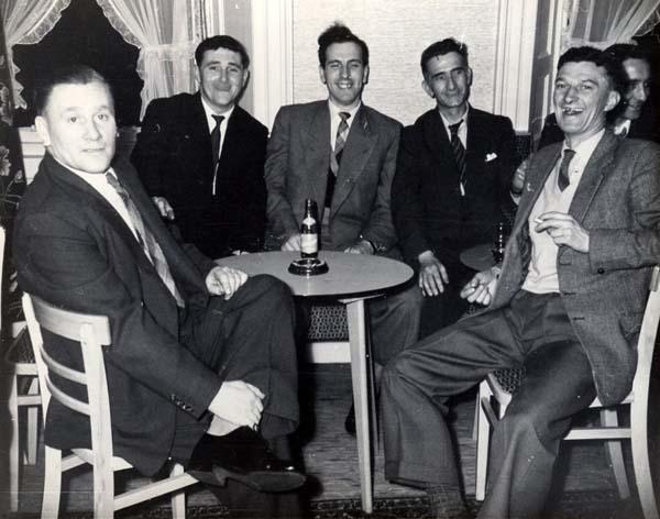 Henry Robb Shipyard Electricians Social Club, early 1950s