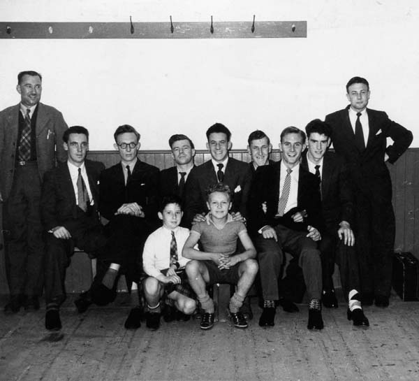 Henry Robb Shipyard Electricians Social Club, early 1950s