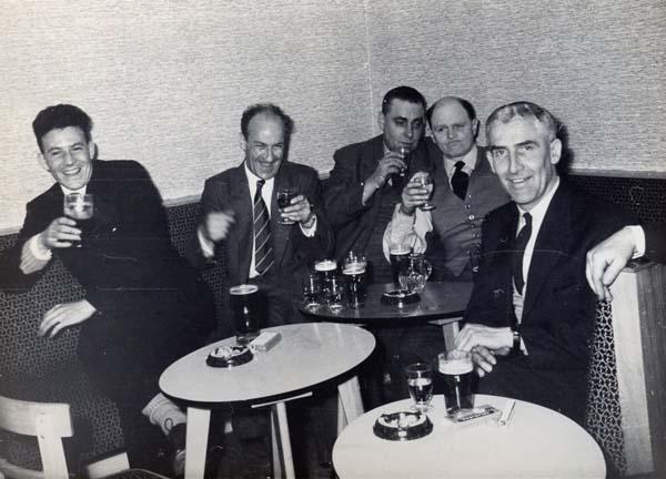 Electricians' Social Club, Henry Robb's Shipyard 1950s