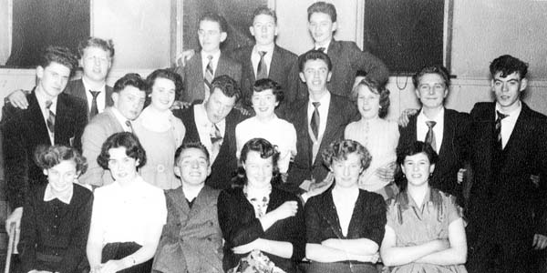 8th Leith Scouts Dance At Newhaven School 1950s