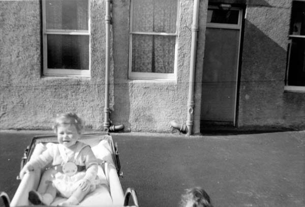 Nursery Child In Pram 1960s