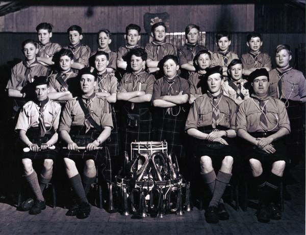 8th Leith Scouts Band 1949-53