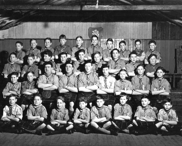 8th Leith Scouts 1949-53
