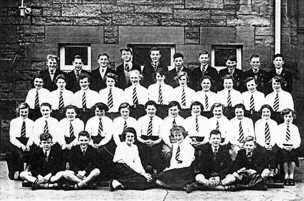 Trinity Academy Class Portrait 1954-58
