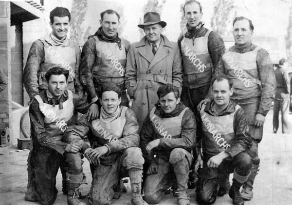 Monarchs Speedway Team 1951