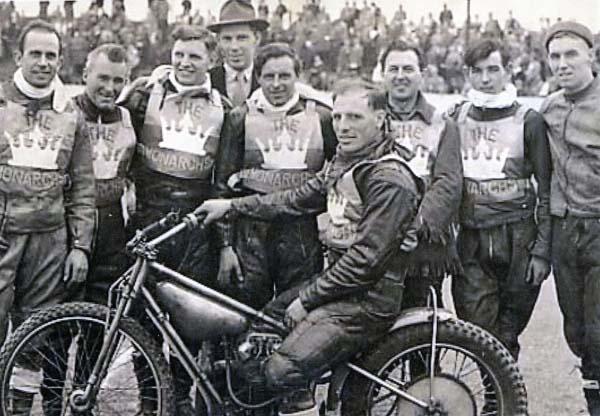 Monarchs Speedway Team 1960