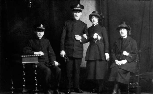 Salvation Army Marriage 1925