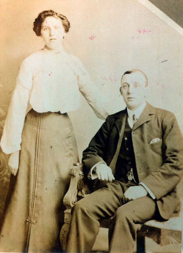 Studio Portrait Young Couple c.1906