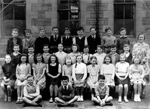Bonnington Road School Class Portrait c.1952