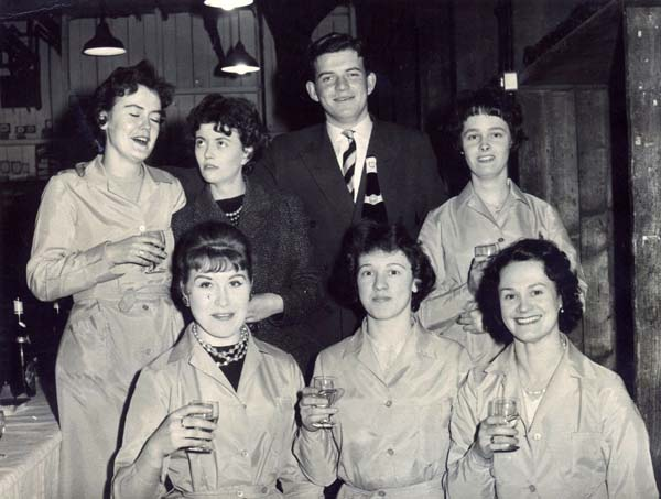 Cheers! Employees Of Wine And Spirit Merchants Taking A Drink c.1959