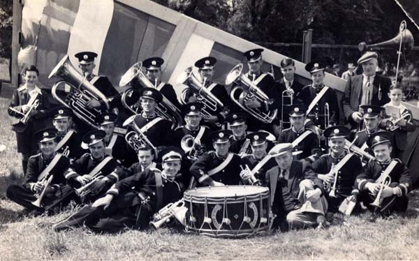 Whitburn Public Brass Band 1930s