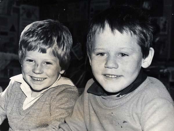 Two Boys At Greendykes School 1980s